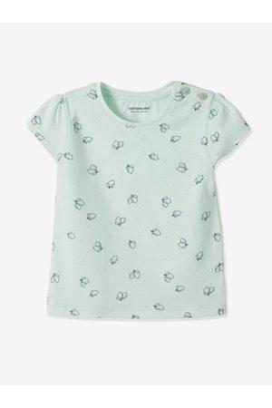 Vertbaudet Lote de 2 camisetas bebé niña de manga corta con motivo frutas claro bicolor/multico