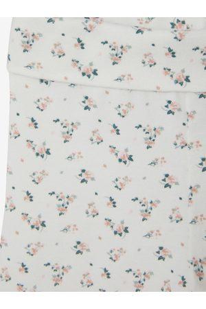 Vertbaudet Lote de 2 leggings para bebé niña liso y con motivos medio bicolor/