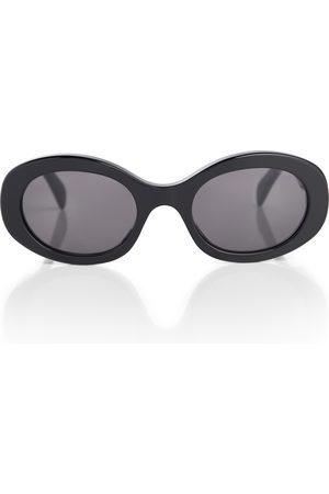 Céline Gafas de sol de acetato ovaladas