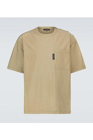 Comme des Garçons Camiseta de tejido técnico