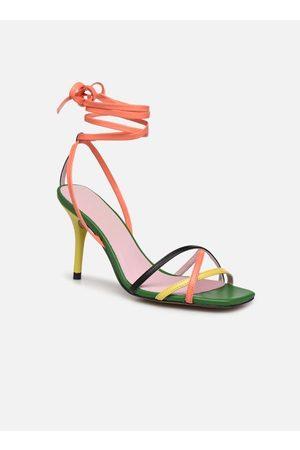 Essentiel Antwerp Wavering Strappy Sandals