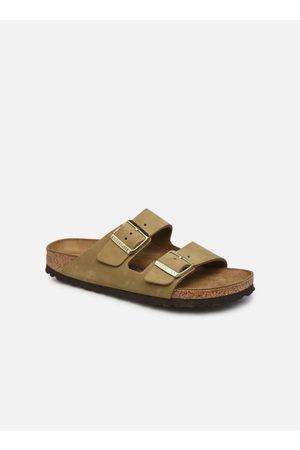 Birkenstock Arizona Cuir Nubuck Soft Footbed W