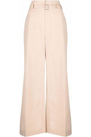 AMBUSH Mujer Pantalones de talle alto - Pantalones anchos de talle alto