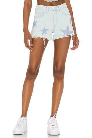 BLANK NYC Shorts denim barrow en color azul talla 24 en - Blue. Talla 24 (también en 26, 25, 27, 28, 29, 30, 31).