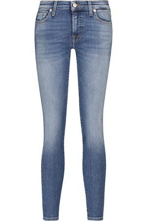 7 for all Mankind Jeans Pyper Slim Illusion de tiro medio