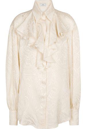 Etro Camisa Paisley de seda