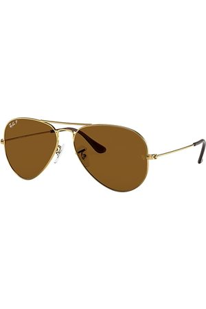 Ray-Ban Aviator Classic Oro, Lenses Polarized Marrón - RB3025