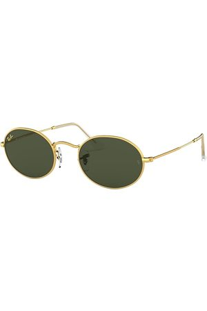 Ray-Ban Oval Legend Gold Oro, Lenses Verde - RB3547