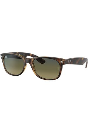 Ray-Ban New Wayfarer Classic Habana, Lenses Polarized Azul - RB2132