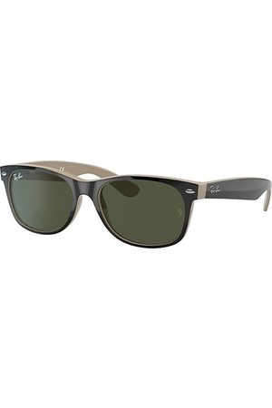 Ray-Ban New Wayfarer Color Mix , Lenses Verde - RB2132