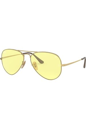 Ray-Ban Rb3689 Solid Evolve Oro, Lenses Amarillo - RB3689