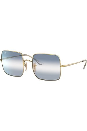Ray-Ban Square 1971 Bi-gradient Oro, Lenses Azul - RB1971