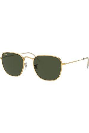 Ray-Ban Frank Legend Gold Oro, Lenses Verde - RB3857