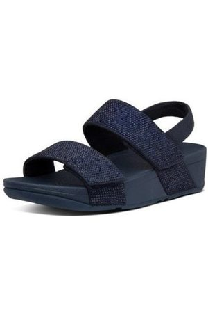 FitFlop Sandalias MINA CRYSTAL BACK STRAP SANDALS - MIDNIGHT NAVY para mujer