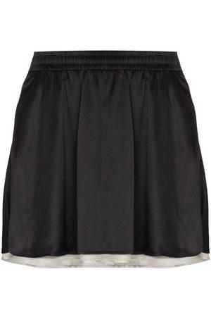 Y/Project Minifalda reversible a rayas en el lateral
