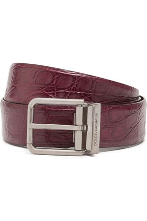 Dolce & Gabbana Cinturón texturizado
