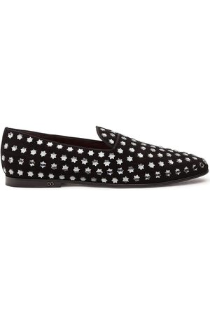 Dolce & Gabbana Slippers con apliques de estrellas