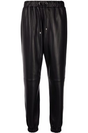 Philipp Plein Mujer Pantalones de cuero - Pantalones de piel ajustados