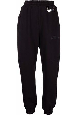 Philipp Plein Pantalones joggers con logo bordado