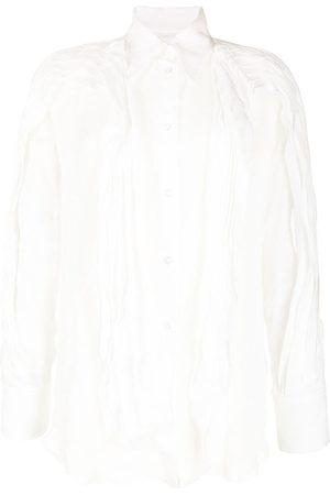 MATICEVSKI Camisa con detalles y capas