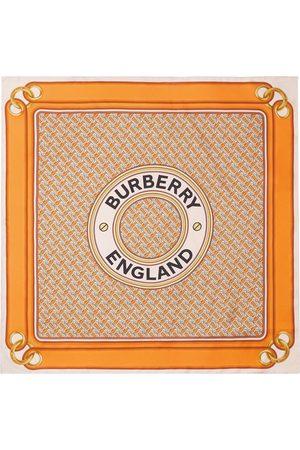 Burberry Bufandas y Pañuelos - Pañuelo con estampado de montaje