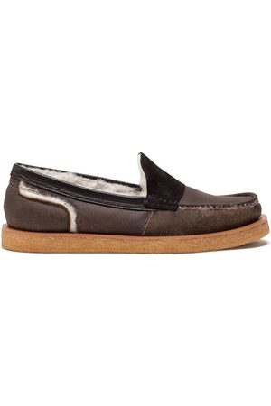 Dolce & Gabbana Hombre Loafers - Shearling-lined loafers