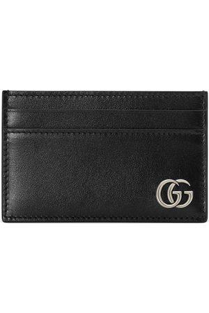 Gucci Tarjetero con placa Interlocking GG