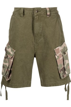 HONOR THE GIFT Camouflage-print cargo shorts