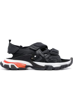 Balenciaga Hombre Sandalias - Track panelled sandals