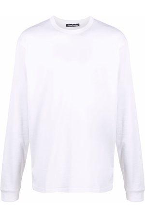 Acne Studios Sin mangas - Camiseta con parche y cara