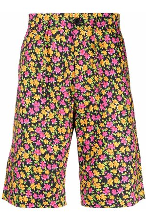 Paul Smith Floral-print deck shorts