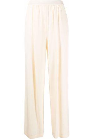 12 STOREEZ Mujer Pantalones acampanados - Pantalones con cinturilla elástica