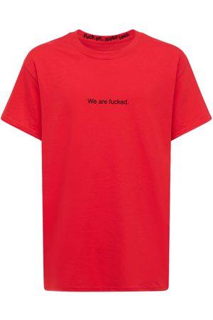 F.A.M.T. | Hombre Camiseta De Algodón Estampada M
