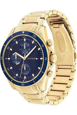 Tommy Hilfiger Reloj analógico oro / navy