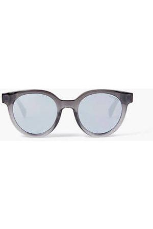 Levi's ® Round Sunglasses / White Multilayer