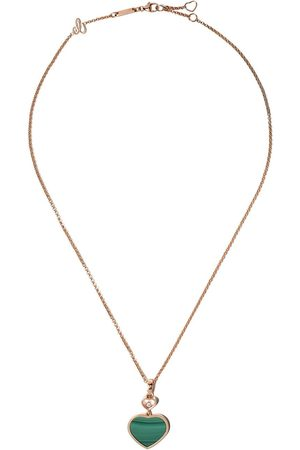 Chopard Mujer Collares - Collar Happy Hearts en oro rosa 18kt con diamante