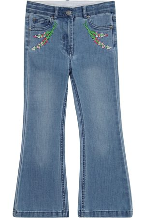 Stella McCartney Kids Niña Vaqueros - Jeans flared bordados