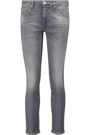 7 for all Mankind Jeans skinny Pyper de tiro bajo