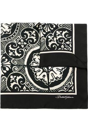Dolce & Gabbana Fular de seda estampado
