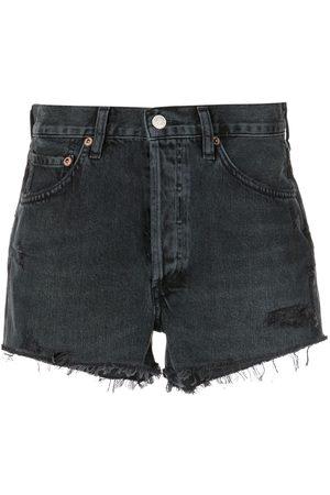 AGOLDE Pantalones vaqueros cortos Parker de talle alto