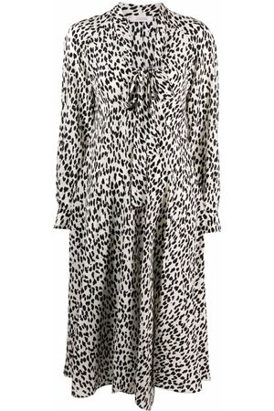 Dorothee Schumacher Vestido con estampado de leopardo