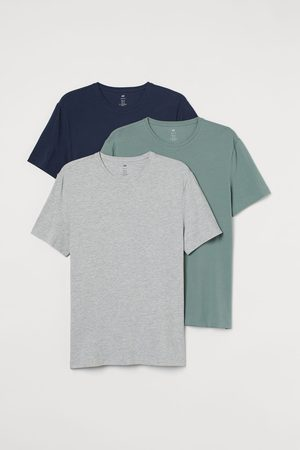 H & M Pack de 3 camisetas Slim Fit