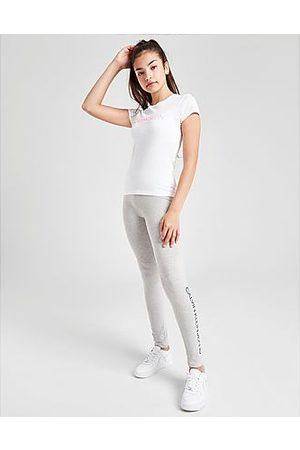 Calvin Klein Girls' Institutional Logo Slim T-Shirt Junior