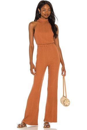 House of Harlow X sofia richie caro jumpsuit en color óxido talla L en - Rust. Talla L (también en M, S, XL, XS).