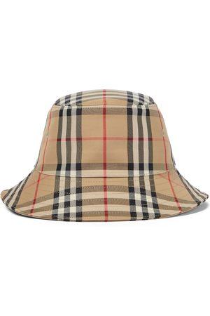Burberry Kids Sombreros - Sombrero de pescador Vintage Check