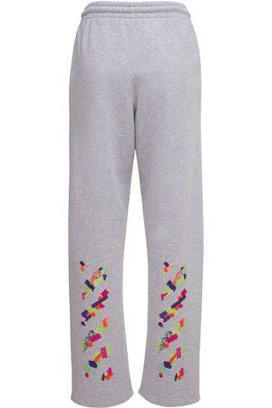 OFF-WHITE | Mujer Lvr Exclusive Pantalones De Algodón Estampados /multi Xxs