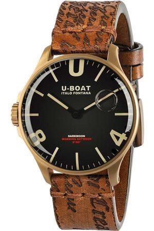 U-BOAT Reloj analógico 8467/A, Quartz, 44mm, 5ATM para hombre