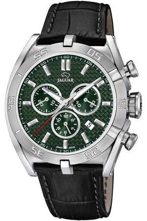 Jaguar Reloj analógico J857/7, Quartz, 45mm, 10ATM para hombre