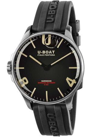U-BOAT Reloj analógico 8463/A, Quartz, 44mm, 5ATM para hombre