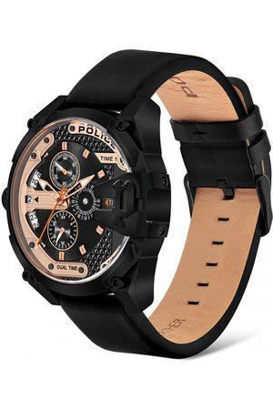 Police Reloj analógico PL16066JSB.02A, Quartz, 47mm, 3ATM para hombre